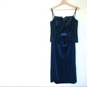 { v i n t a g e }  Joseph Ribkoff 2-piece Dress